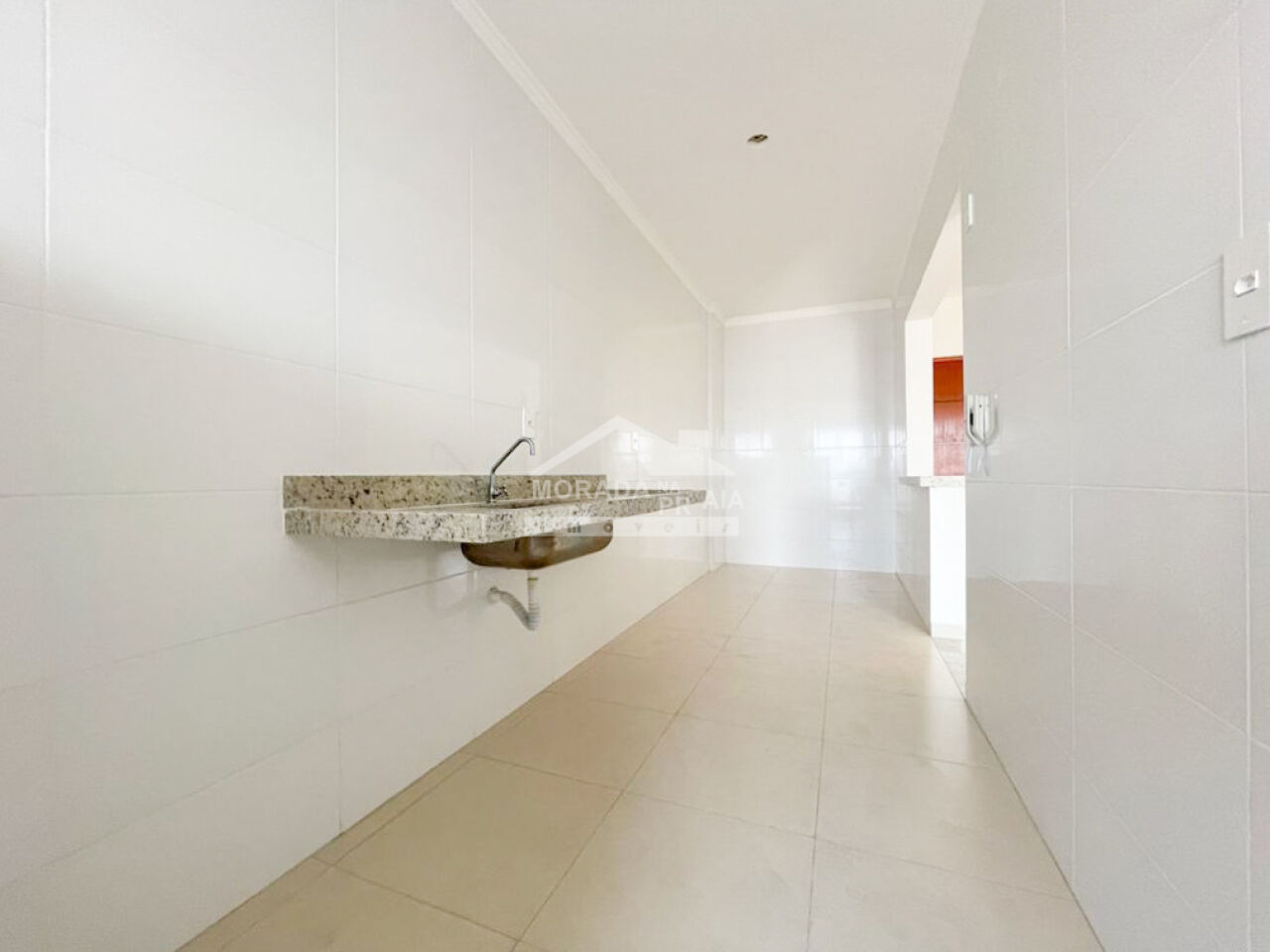WC suíte 02 do apartamento com 3 dormitórios em Canto do Forte - Praia Grande