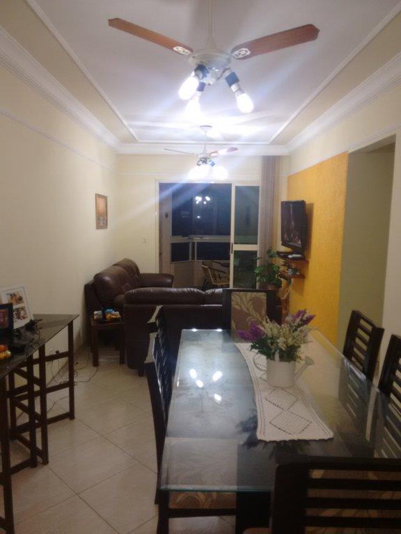 Sala ang. 1 do apartamento com 2 dormitórios em CANTO DO FORTE - PRAIA GRANDE