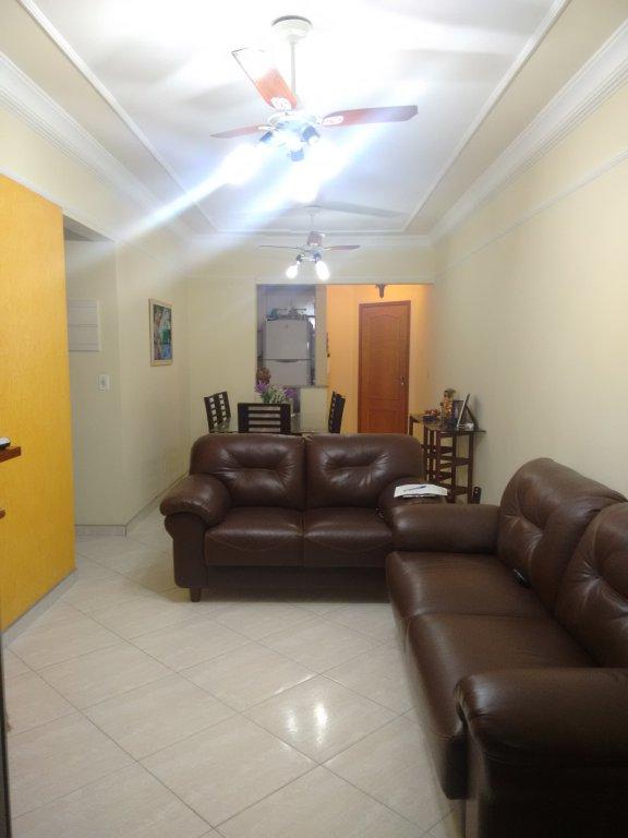 Sala ang. 2 do apartamento com 2 dormitórios em CANTO DO FORTE - PRAIA GRANDE