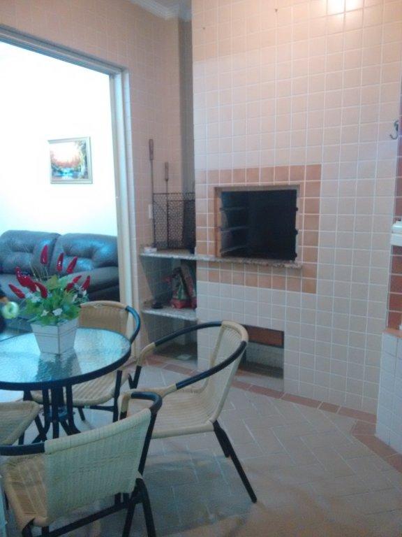 Terraço gourmet do apartamento com 2 dormitórios em CANTO DO FORTE - PRAIA GRANDE