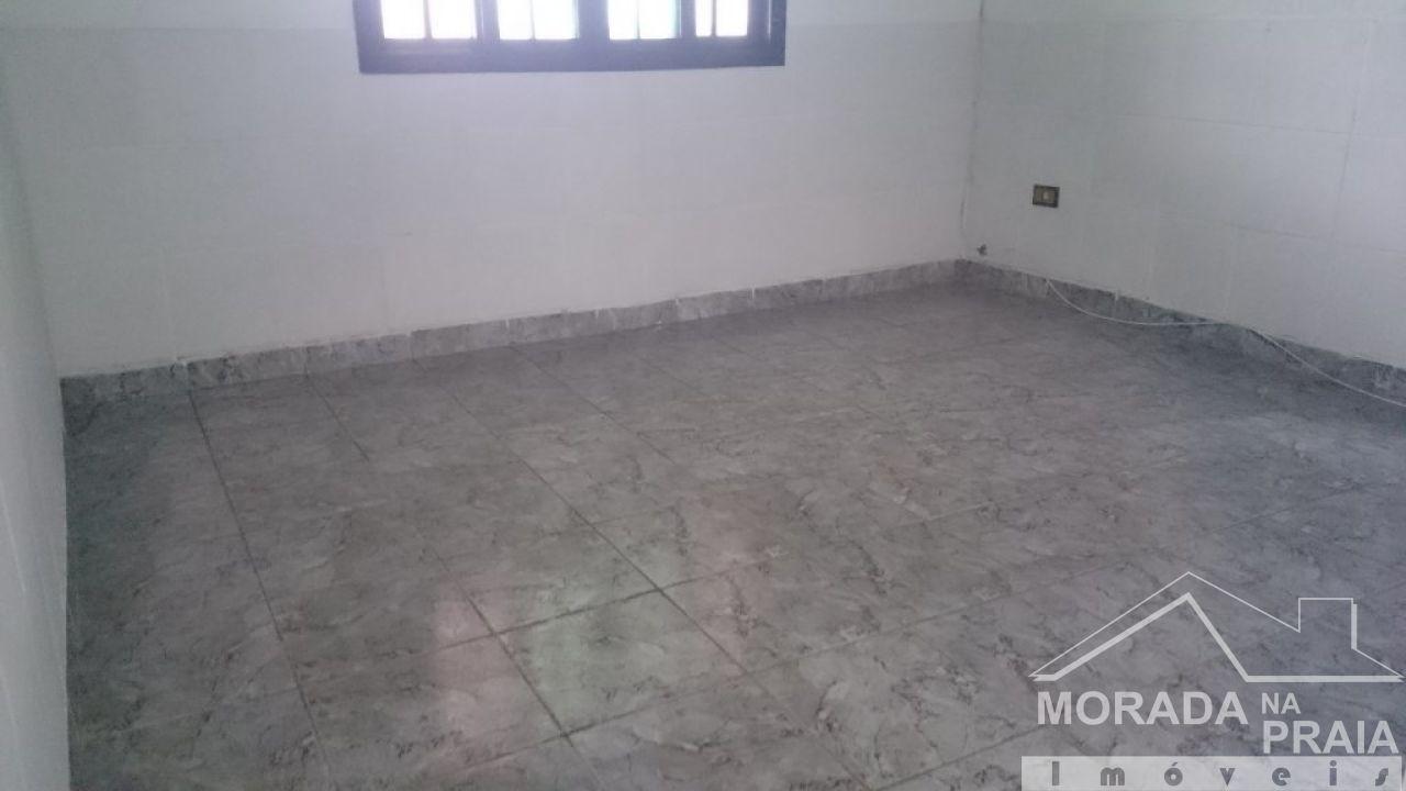 Sala ang 02 do casa geminada com 2 dormitórios em Vila Tupi - Praia Grande