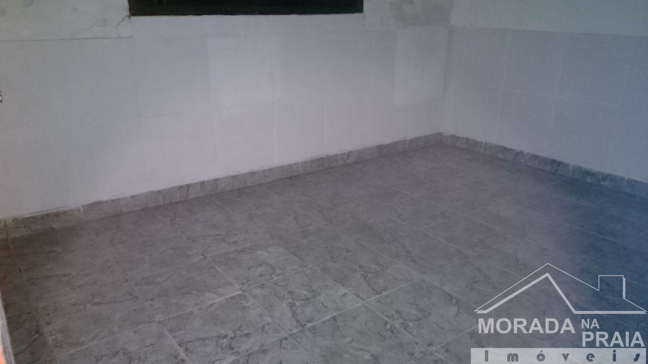Dormitório do casa geminada com 2 dormitórios em Vila Tupi - Praia Grande