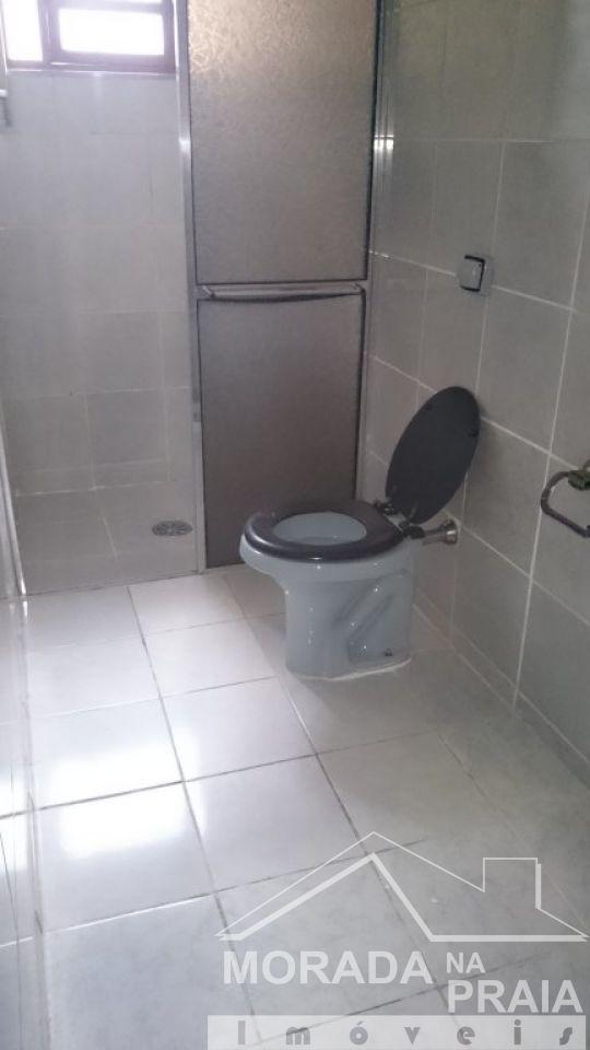 WC suíte ang 02 do casa geminada com 2 dormitórios em Vila Tupi - Praia Grande