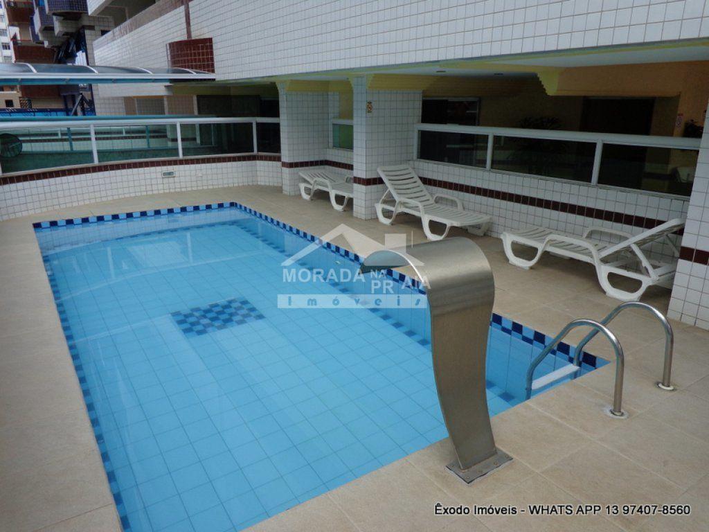 piscina  do apartamento com 1 dormitórios em OCIAN - PRAIA GRANDE