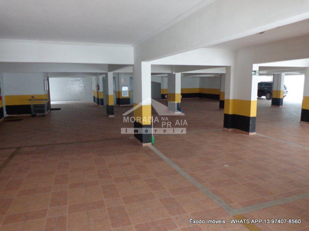 garagem coberta do apartamento com 1 dormitórios em OCIAN - PRAIA GRANDE