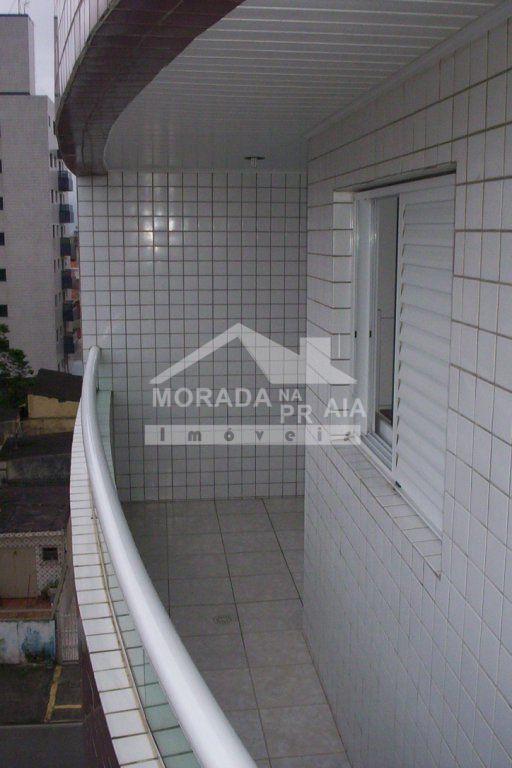 sacada do apartamento com 1 dormitórios em OCIAN - PRAIA GRANDE