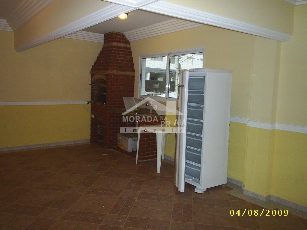 churrasqueira do apartamento com 1 dormitórios em OCIAN - PRAIA GRANDE