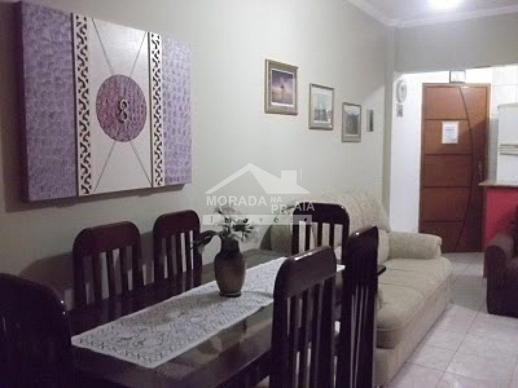 sala ang 02 do apartamento com 1 dormitórios em OCIAN - PRAIA GRANDE