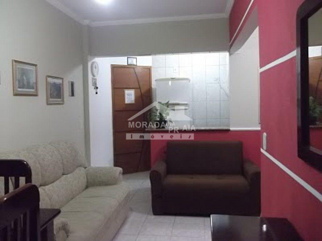 sala do apartamento com 1 dormitórios em OCIAN - PRAIA GRANDE