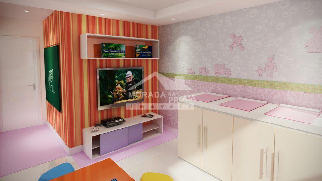brinquedoteca  do apartamento com 2 dormitórios em AVIAÇÃO - PRAIA GRANDE