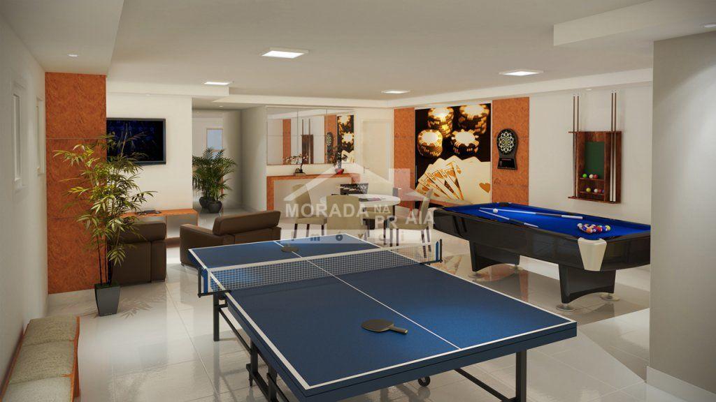 salão de jogos do apartamento com 2 dormitórios em AVIAÇÃO - PRAIA GRANDE