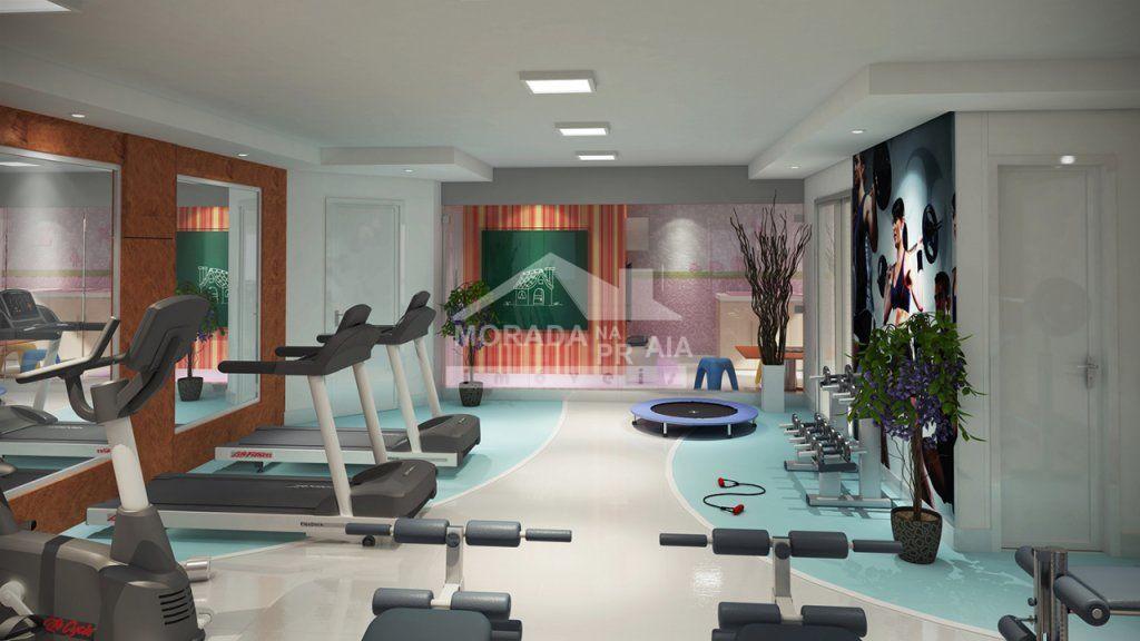 Academia  do apartamento com 2 dormitórios em AVIAÇÃO - PRAIA GRANDE