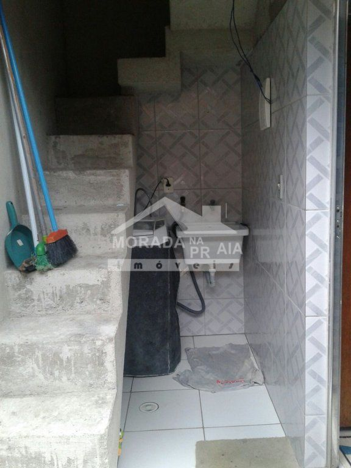 Área de serviço do casa geminada com 2 dormitórios em Vila Sonia - Praia Grande