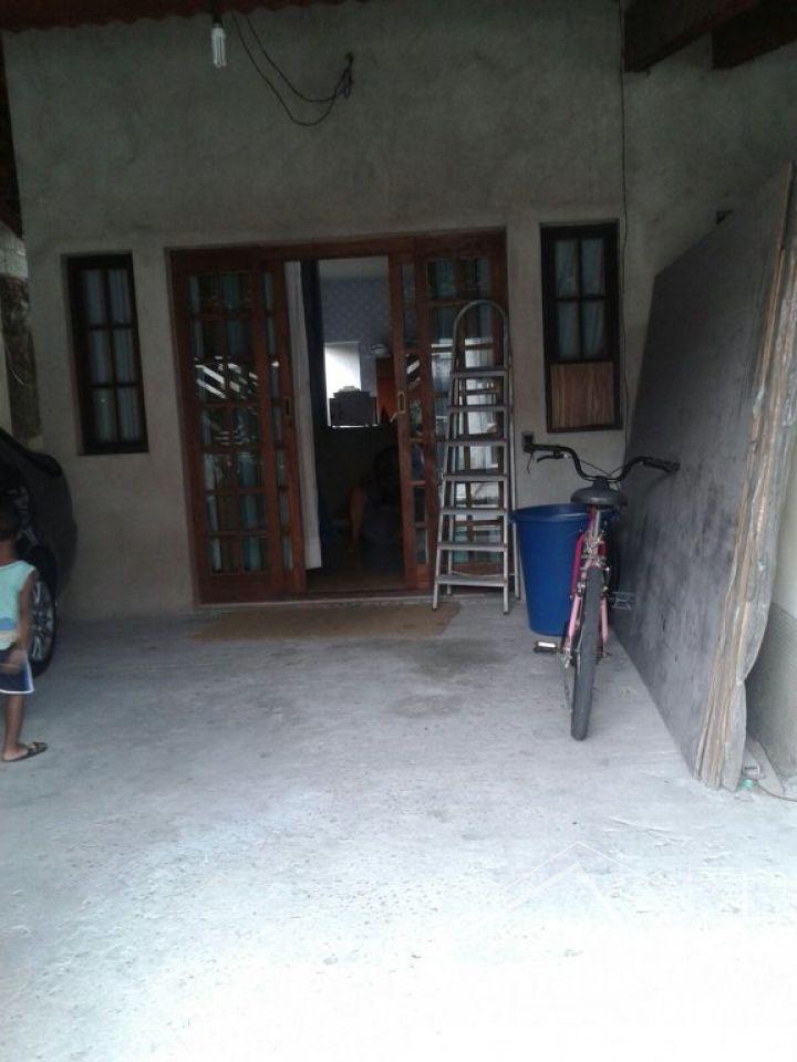 Garagem do casa geminada com 2 dormitórios em Vila Sonia - Praia Grande