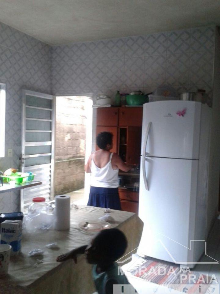 Cozinha do casa geminada com 2 dormitórios em Vila Sonia - Praia Grande