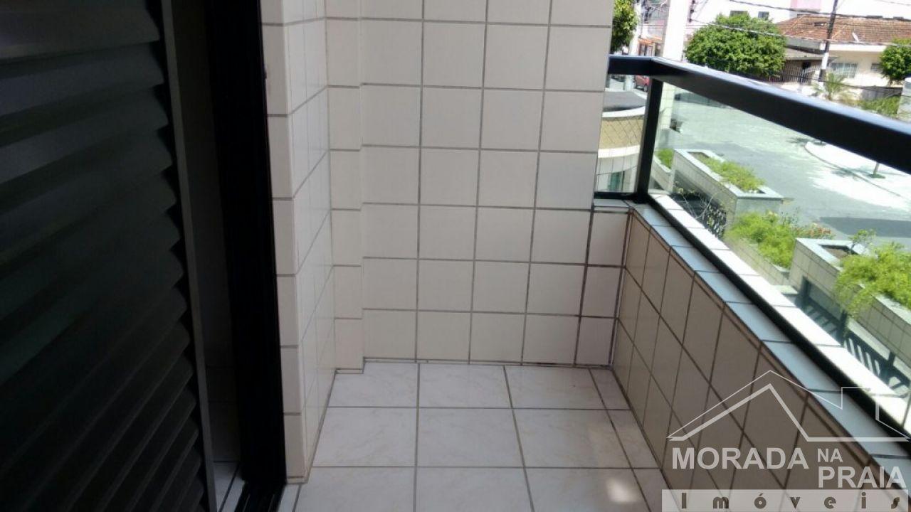 VARANDA DA SALA do apartamento com 2 dormitórios em Vila Guilhermina - Praia Grande