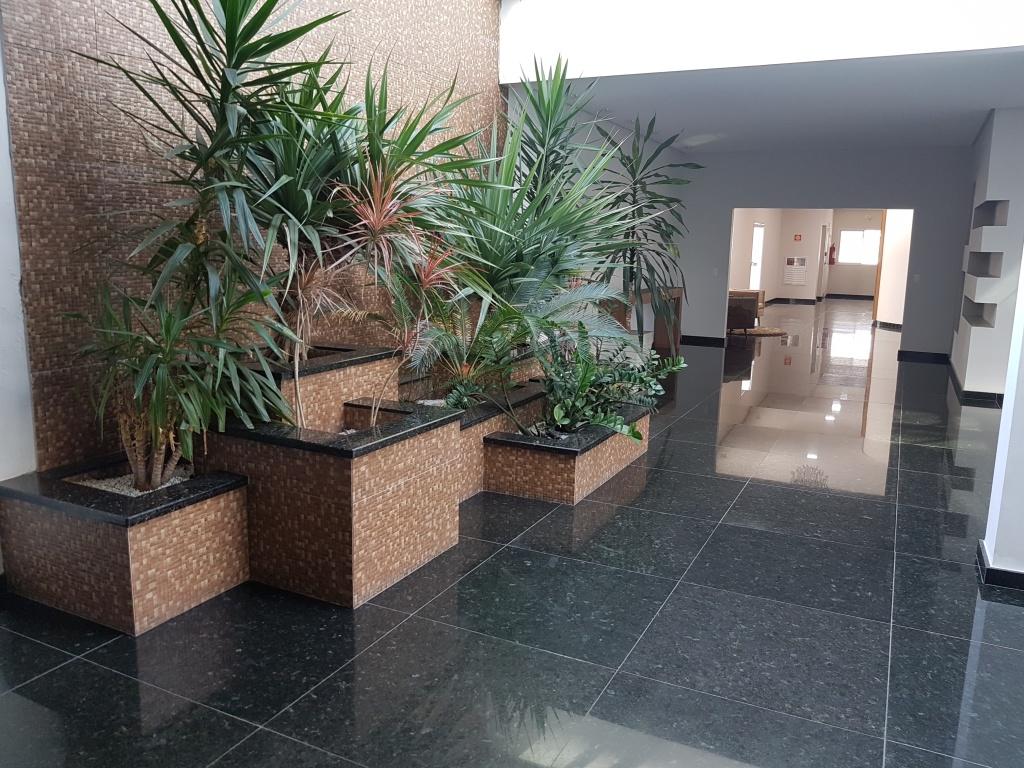 Hall de entrada do cobertura com 4 dormitórios em CANTO DO FORTE - PRAIA GRANDE