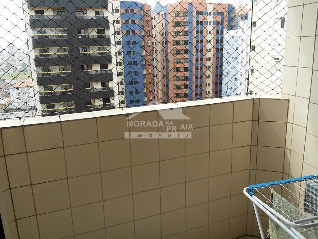 Sacada do apartamento com 1 dormitórios em AVIAÇÃO - PRAIA GRANDE