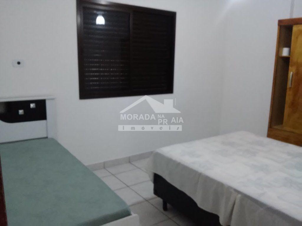 Dormitório  do apartamento com 1 dormitórios em AVIAÇÃO - PRAIA GRANDE