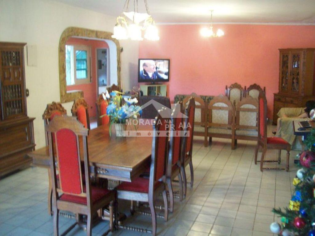 Sala do sobrado isolado com 4 dormitórios em GUILHERMINA - PRAIA GRANDE