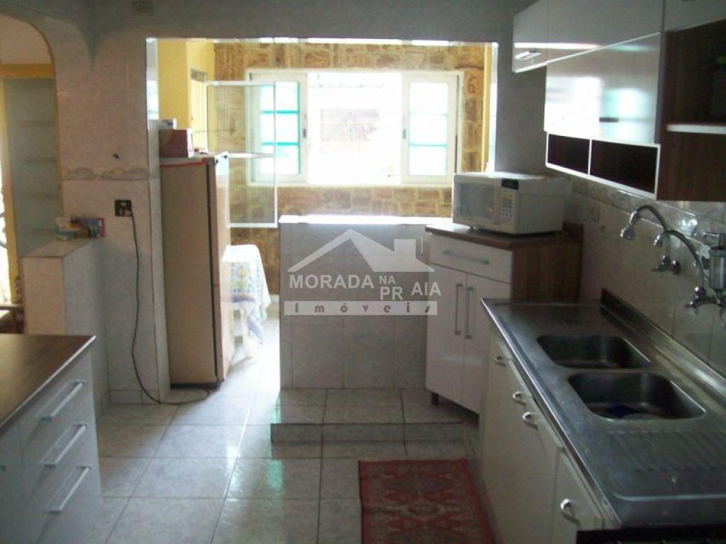 Cozinha ang 02 do sobrado isolado com 4 dormitórios em GUILHERMINA - PRAIA GRANDE