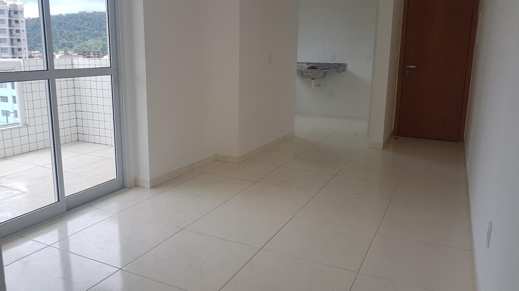 Sala ang 02 do apartamento com 1 dormitórios em Canto do Forte - Praia Grande
