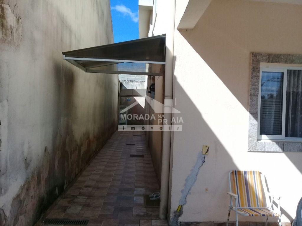 Corredor 02 do condomínio fechado com 2 dormitórios em Vila Mirim - Praia Grande