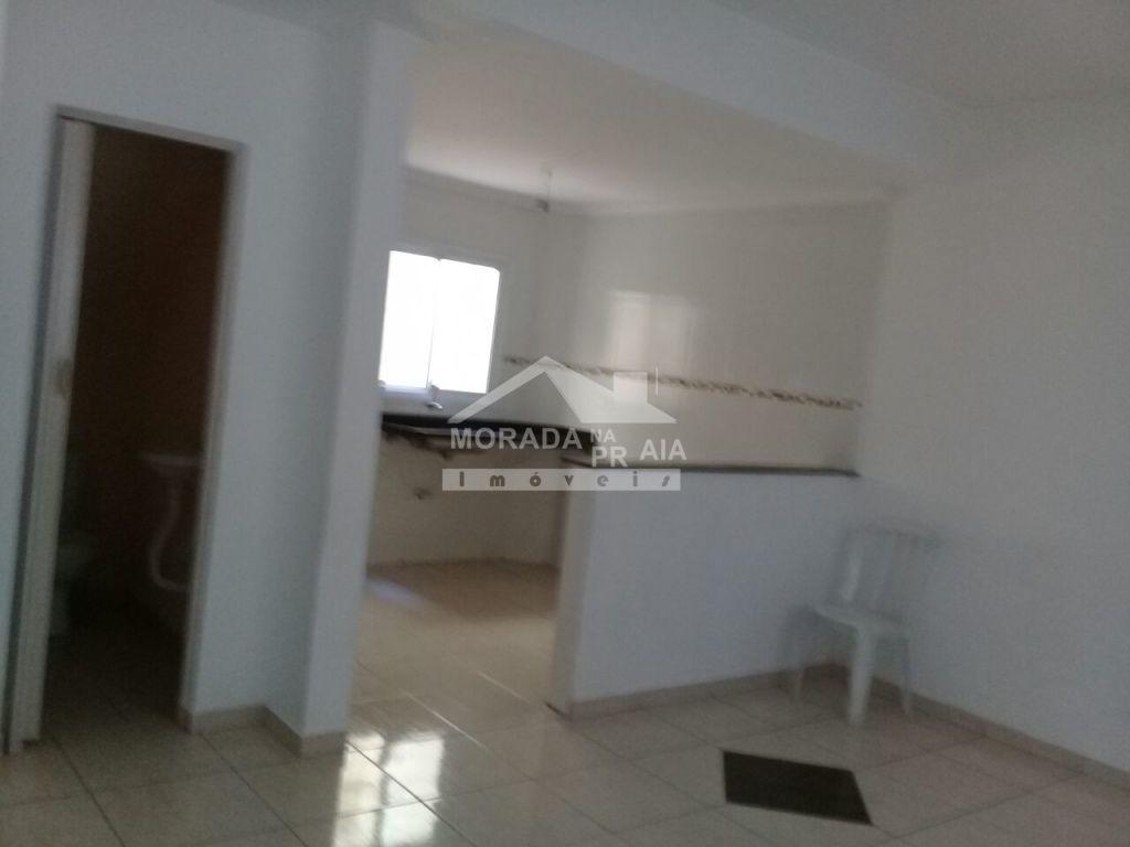 Sala ang 02 do condomínio fechado com 2 dormitórios em Vila Mirim - Praia Grande