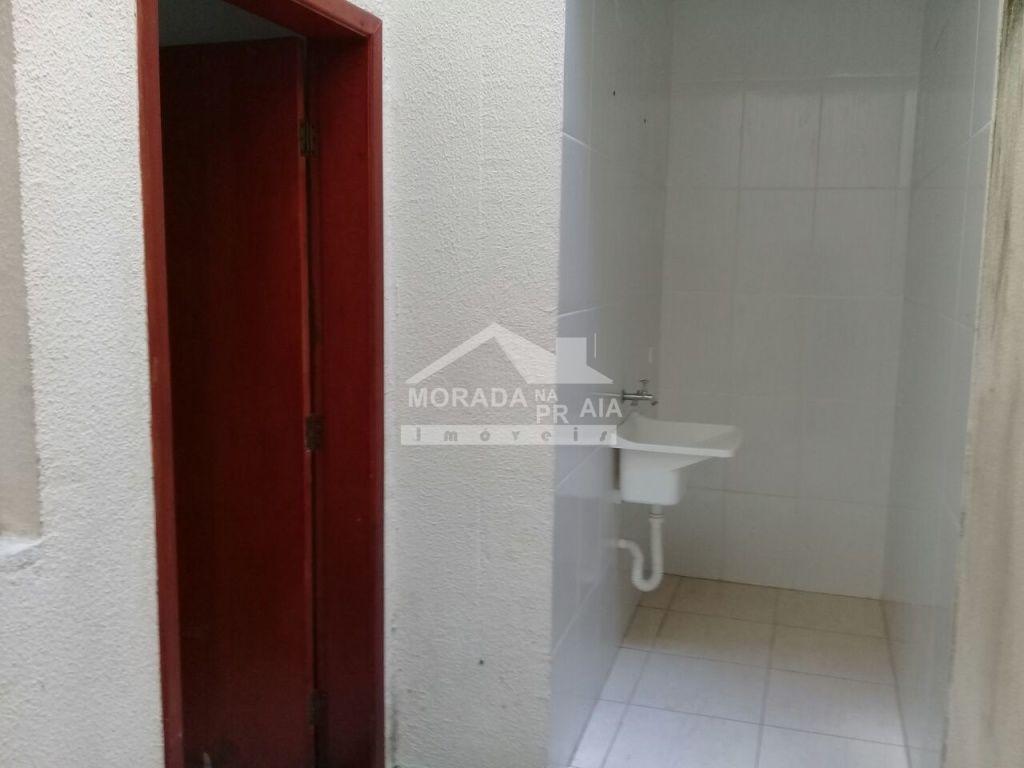 Área de serviço do condomínio fechado com 2 dormitórios em Vila Mirim - Praia Grande