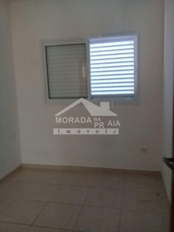 Dormitório 01 do condomínio fechado com 2 dormitórios em Vila Mirim - Praia Grande