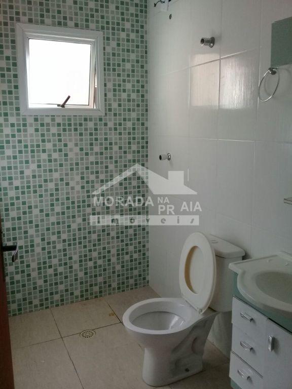 WC social do condomínio fechado com 2 dormitórios em Vila Mirim - Praia Grande