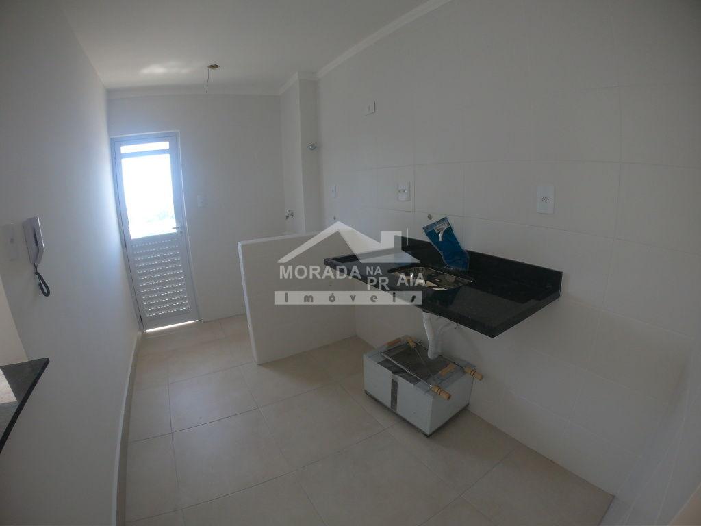 Hall da entrada  do apartamento com 2 dormitórios em GUILHERMINA - PRAIA GRANDE
