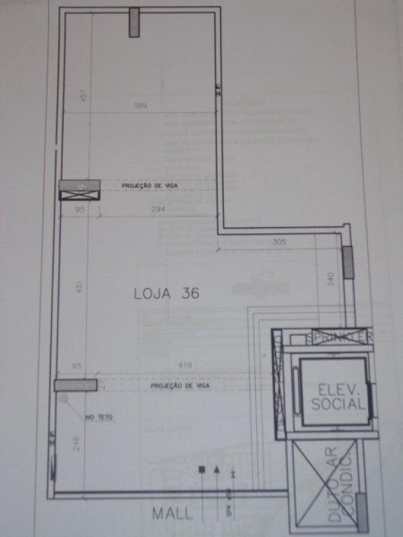 Loja/salão em Aguas Claras Norte, Águas Claras - DF