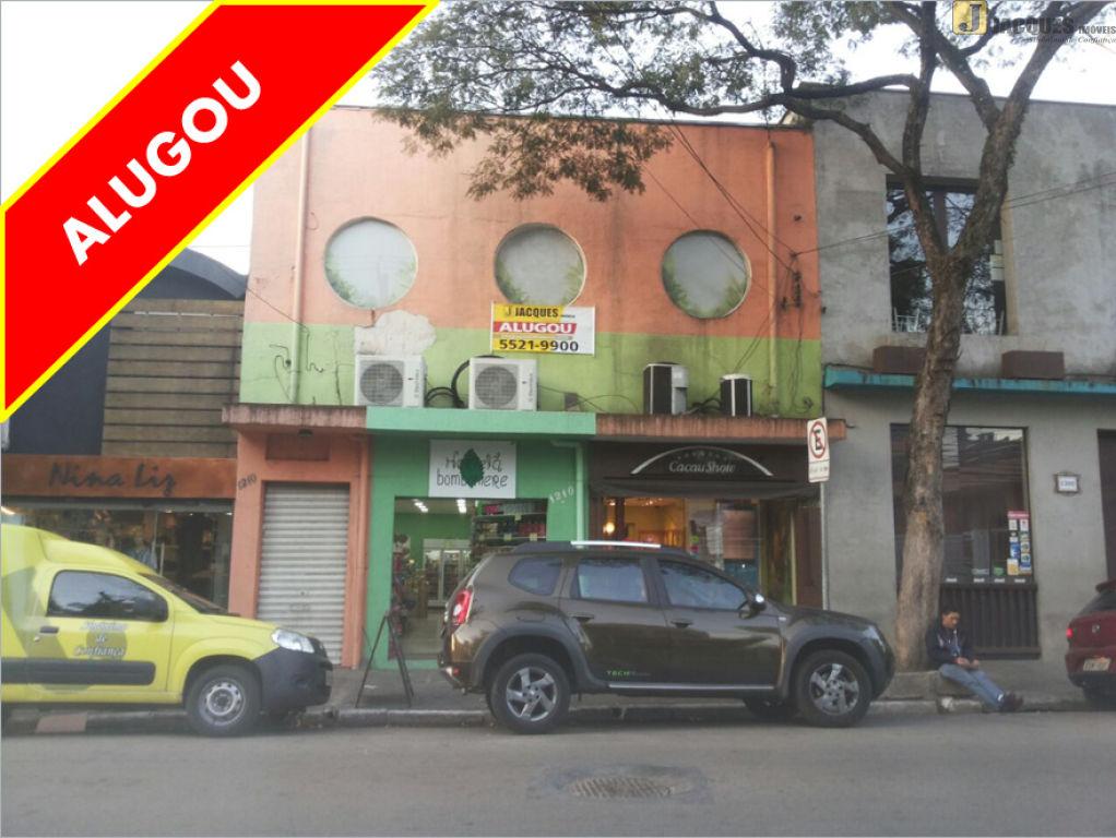 SALA-SOBRELOJA para Locação - Chácara Santo Antônio (Zona Sul)
