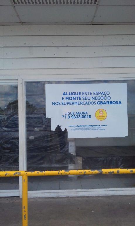 LOJA COMERCIAL COM 30,52M² NO GBARBOSA DE PAU DA LIMA, SALVADORBA