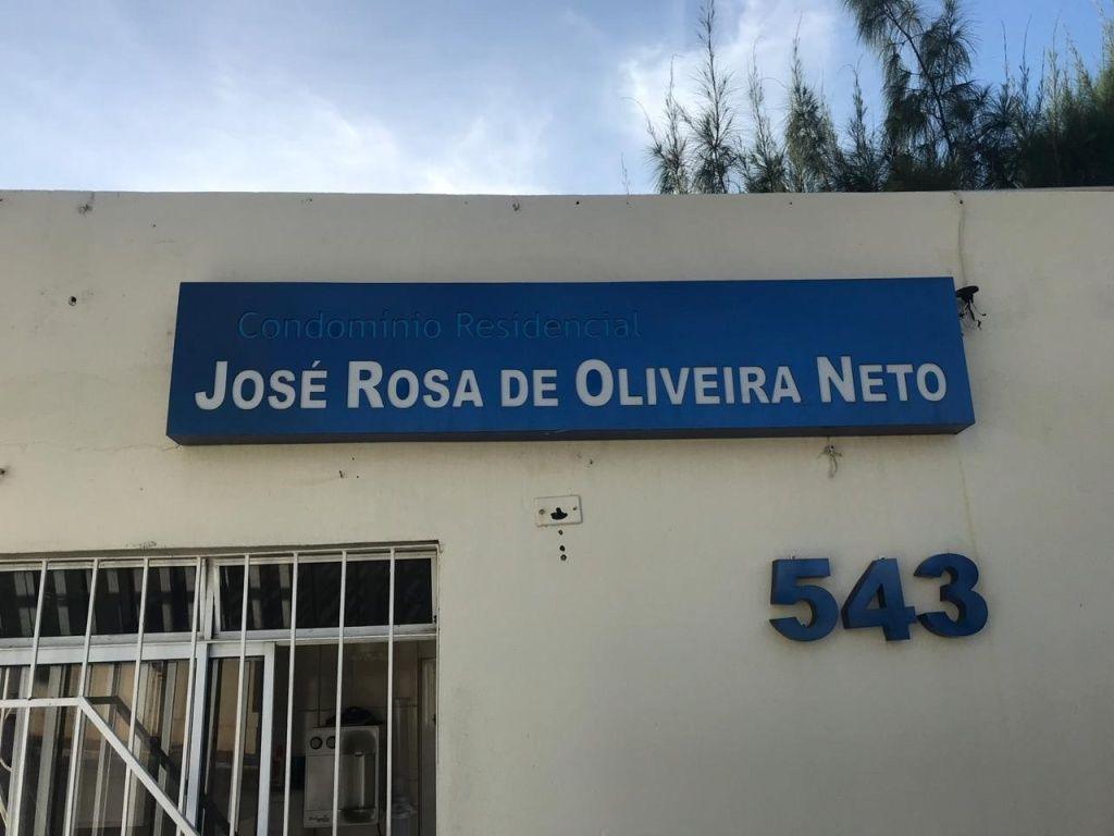 APT NO COND JOSE ROSA DE OLIVEIRA NETO NO BAIRRO JABOTIANA