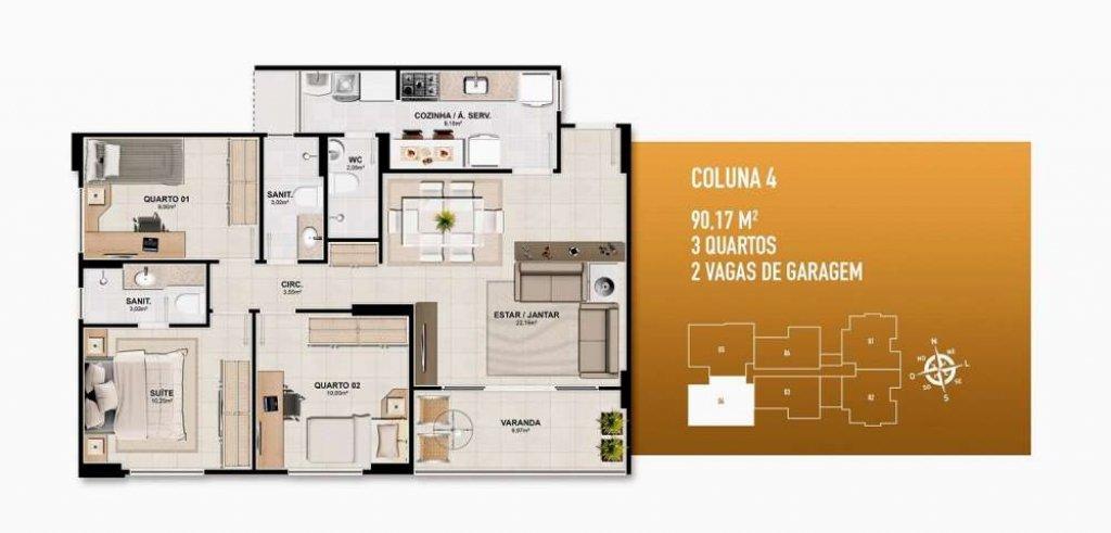 Apartamento no Trianon Jardins