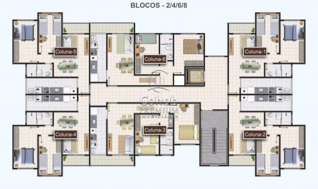 Apartamento no condomínio Horto Antônio
