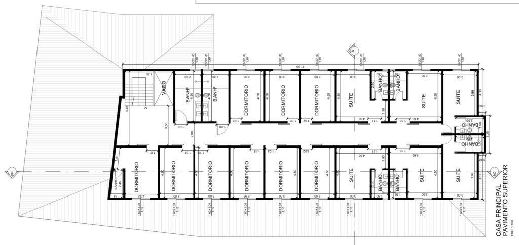 imagem de destaque-imovel planta - piso superior